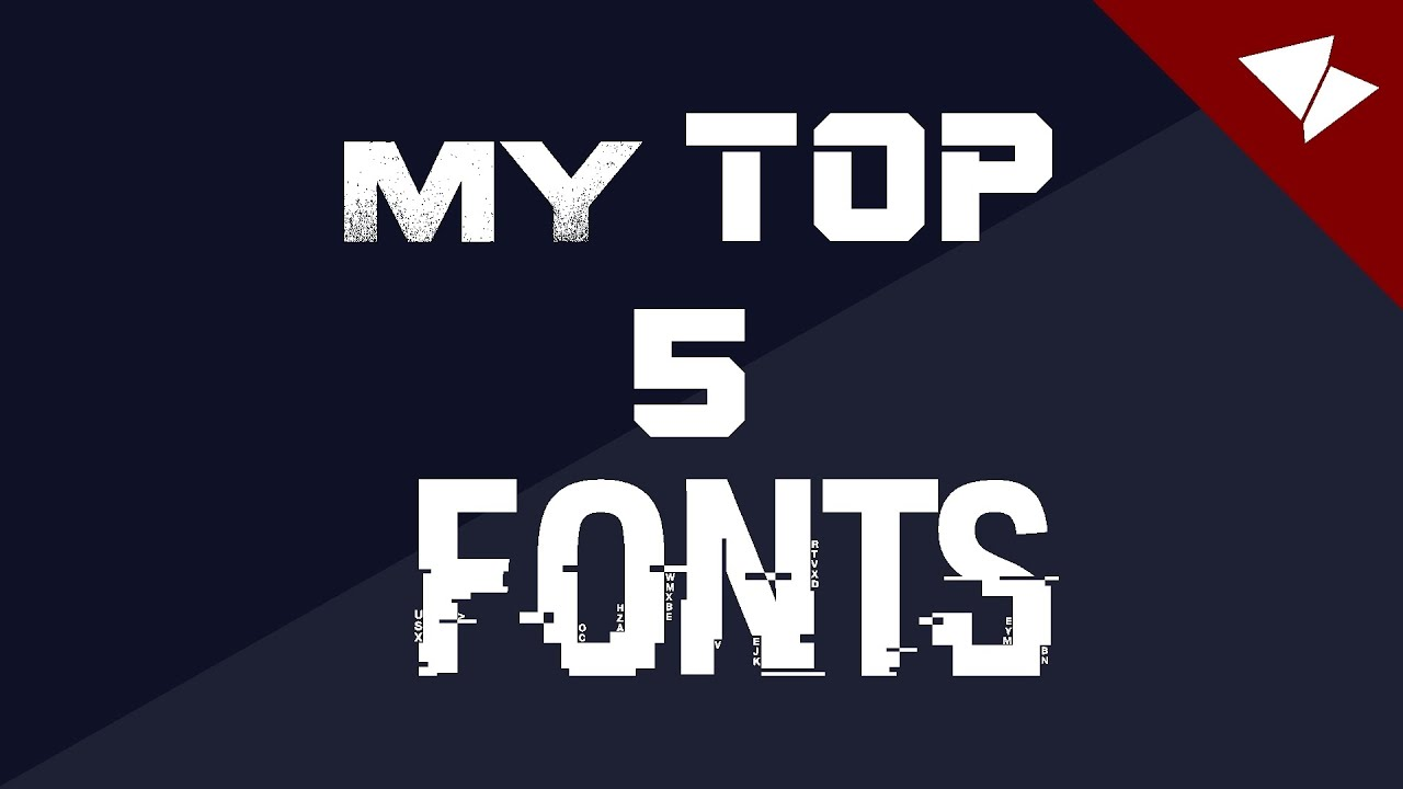 my top 5 fonts 1 best fonts april 2015 itskayne