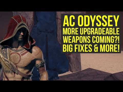 Assassin's Creed Odyssey DLC More UPGRADEABLE WEAPONS Coming?! Future Fixes & More (AC Odyssey DLC) thumbnail