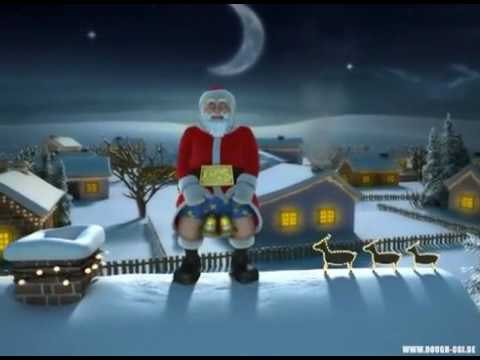 Пьяный Дед Мороз,всех с прошедшим!!! - YouTube