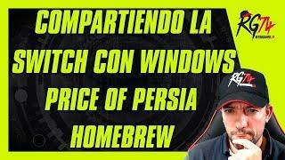 Compartiendo la Switch. MicroSD, User y System en Windows Explorer. Prince of Persia Homebrew.