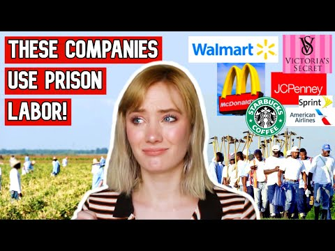 MODERN SLAVERY?!.. Prison Labor Is A SCAM!