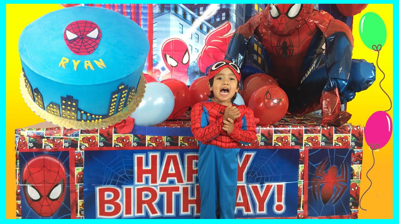 Giant Surprise Box Opening With Spiderman Power Wheels