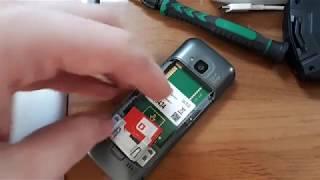 Nokia C5 - Інструкція як вставити сім-карту