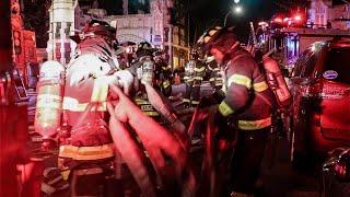 [ Manhattan 10-75 Box 1597 ] All-Hands Fire on the 2nd Floor; Clutter thrown out Window