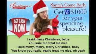 Rod Stewart ~ Merry Christmas, Baby 2012 LYRICS HD Copy