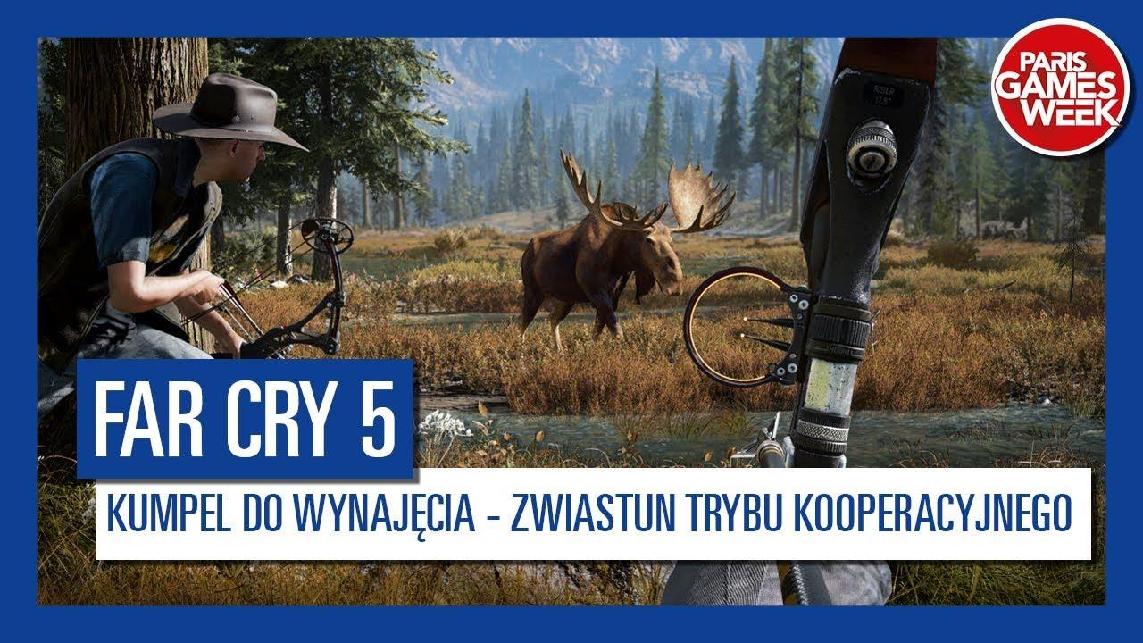 Far Cry 5 – kumpel do wynajęcia – zwiastun trybu kooperacyjnego