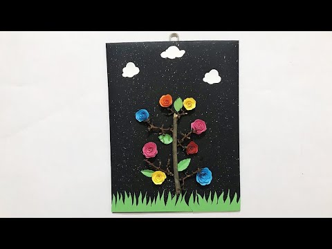 DIY Home Decor Ideas | Handmade Wall Hanging | DIY Paper Crafts