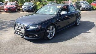 2010 Audi S4 Premium Plus (Start Up, In Depth Tour, and Review)