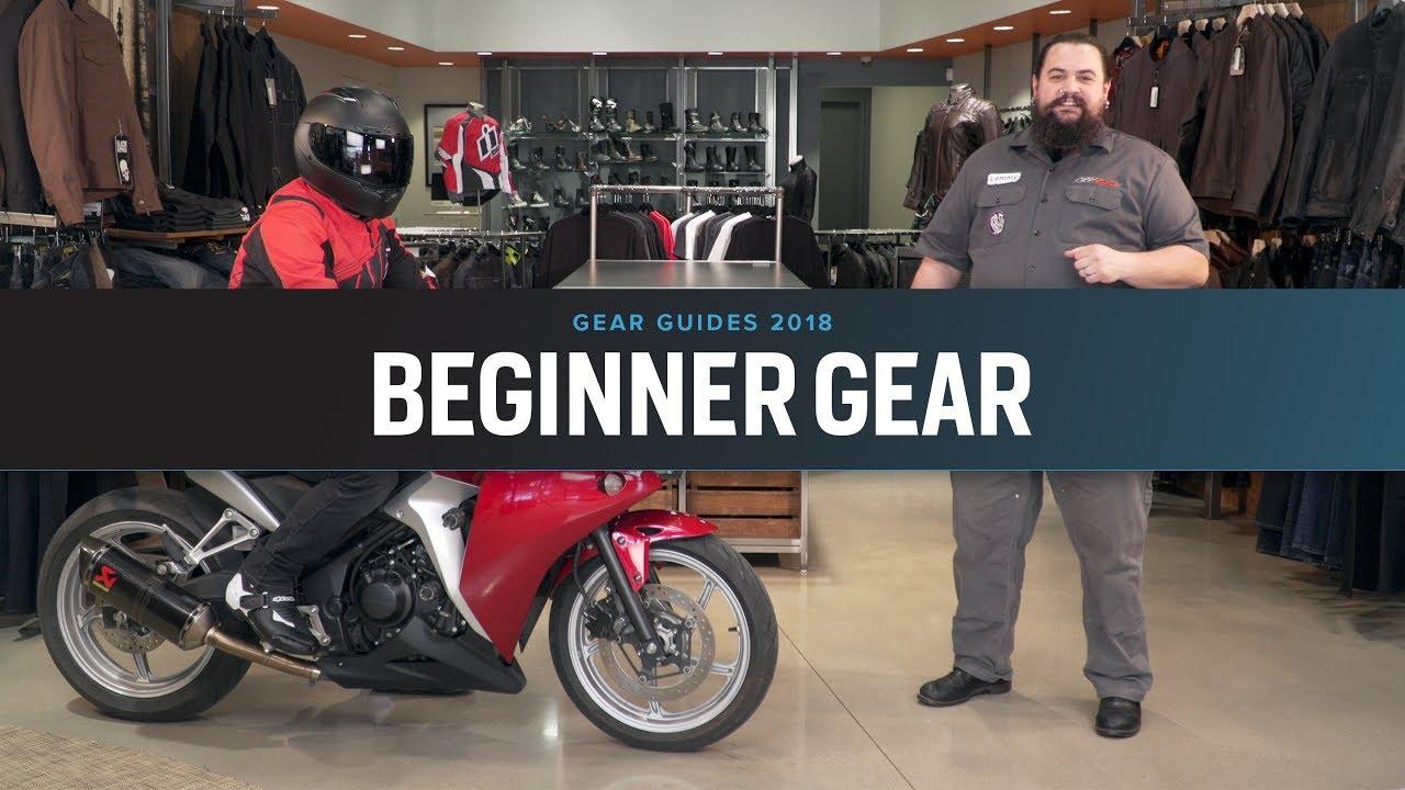 403b21e5221 Best Beginner Motorcycle Gear of 2018 at RevZilla.com - YouTube
