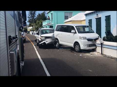 Collision On North Shore, March 22 2018