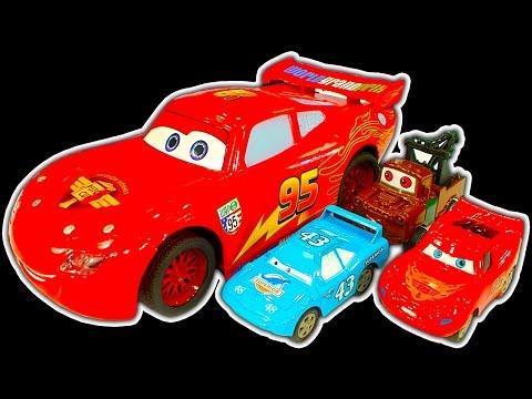 Disney Cars Dark Side Knock Off Toys Ep2 Lightning McQueen Cars 3 Wrecking Crew