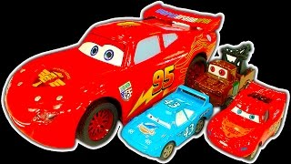 Disney Cars Dark Side Knock Off Toys Ep2 Lightning McQueen Cars 3 Wrecking Crew