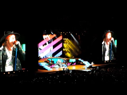Guns N' Roses Tour 2016 Buenos Aires – Inicio del Show – It's so Easy