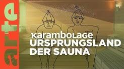 Nackt in der finnischen Sauna | Karambolage | ARTE