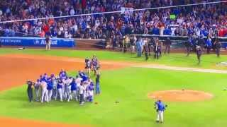 Mets win the 2015 National League Pennant @ Wrigley Field 10-21-15