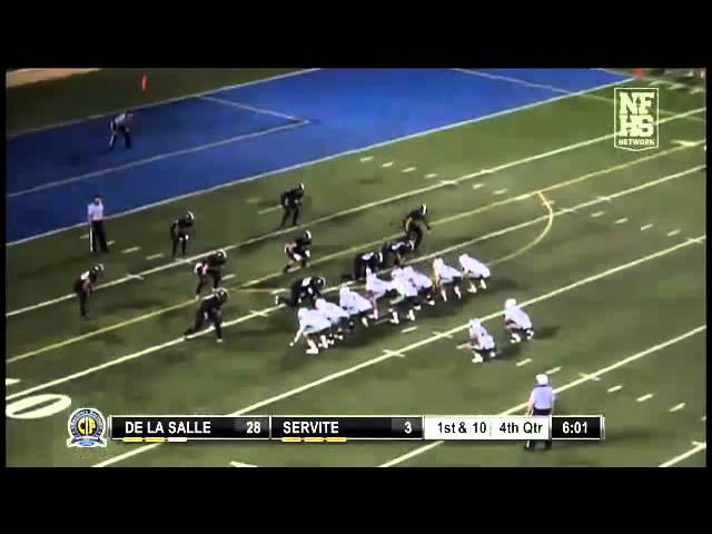 Football Recap: De La Salle vs. Servite
