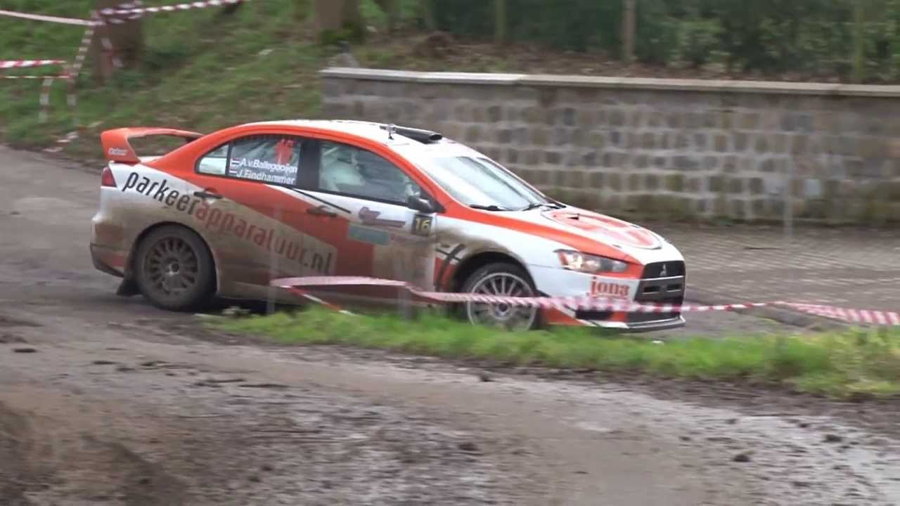 RallyTeam Brabant Mitsubishi Lancer Evo X - Rally van Haspengouw ...