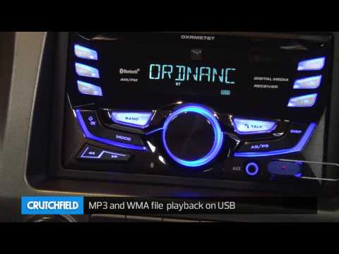 Dual DXRM57BT Display And Controls Demo | Crutchfield Video
