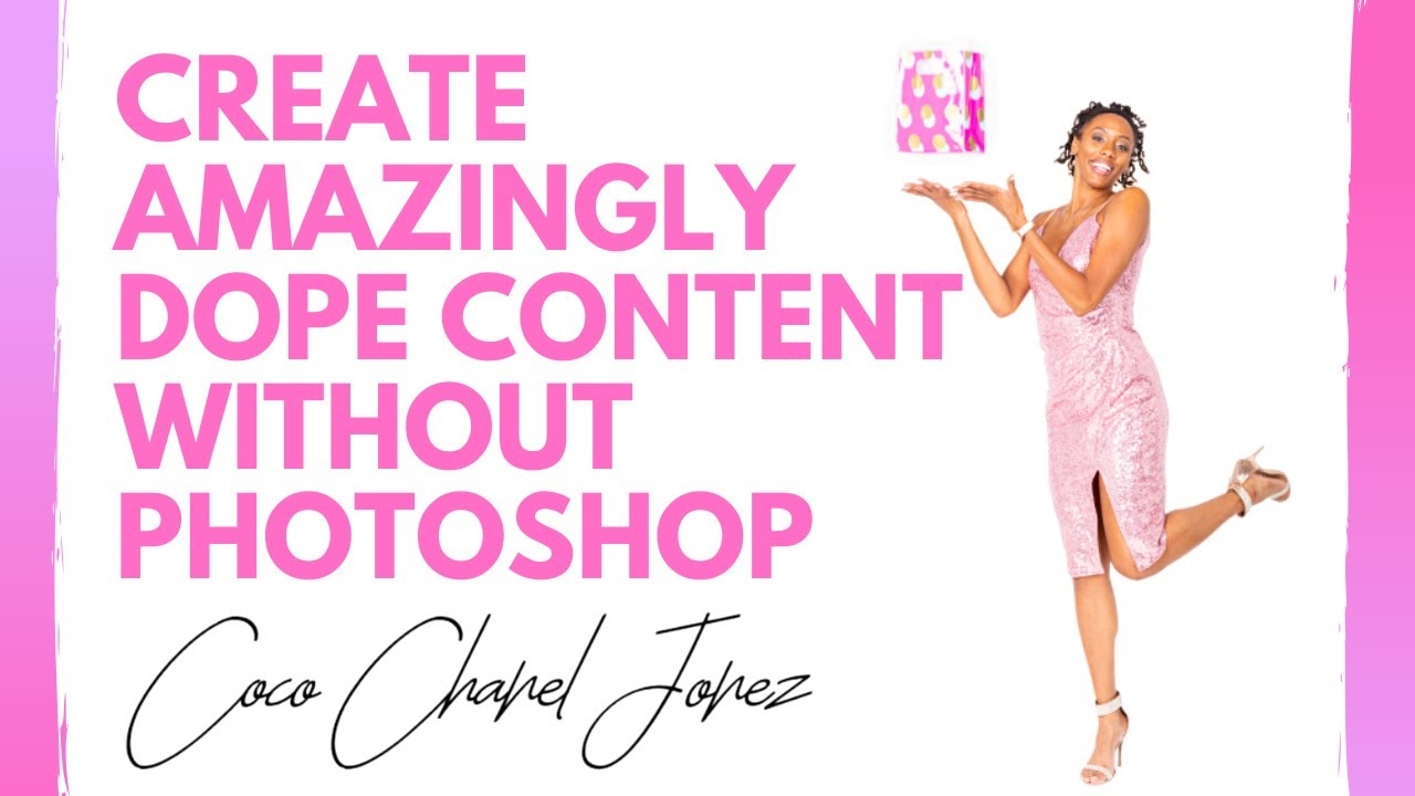 You Don't Need Photo Shop to Create Dope Content