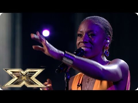 Shan Ako sings beautiful John Lennon masterpiece Imagine | Live Shows Week 1 | The X Factor UK 2018