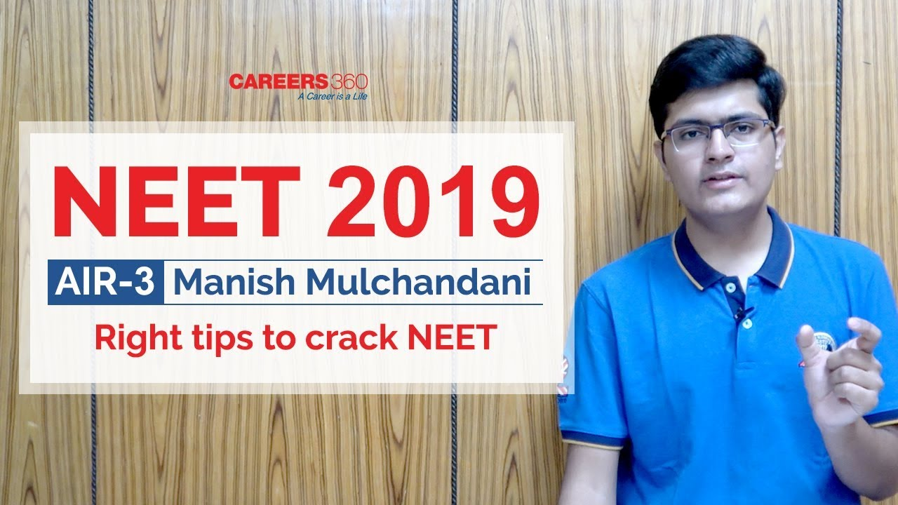 how to crack neet 2019 in one year
