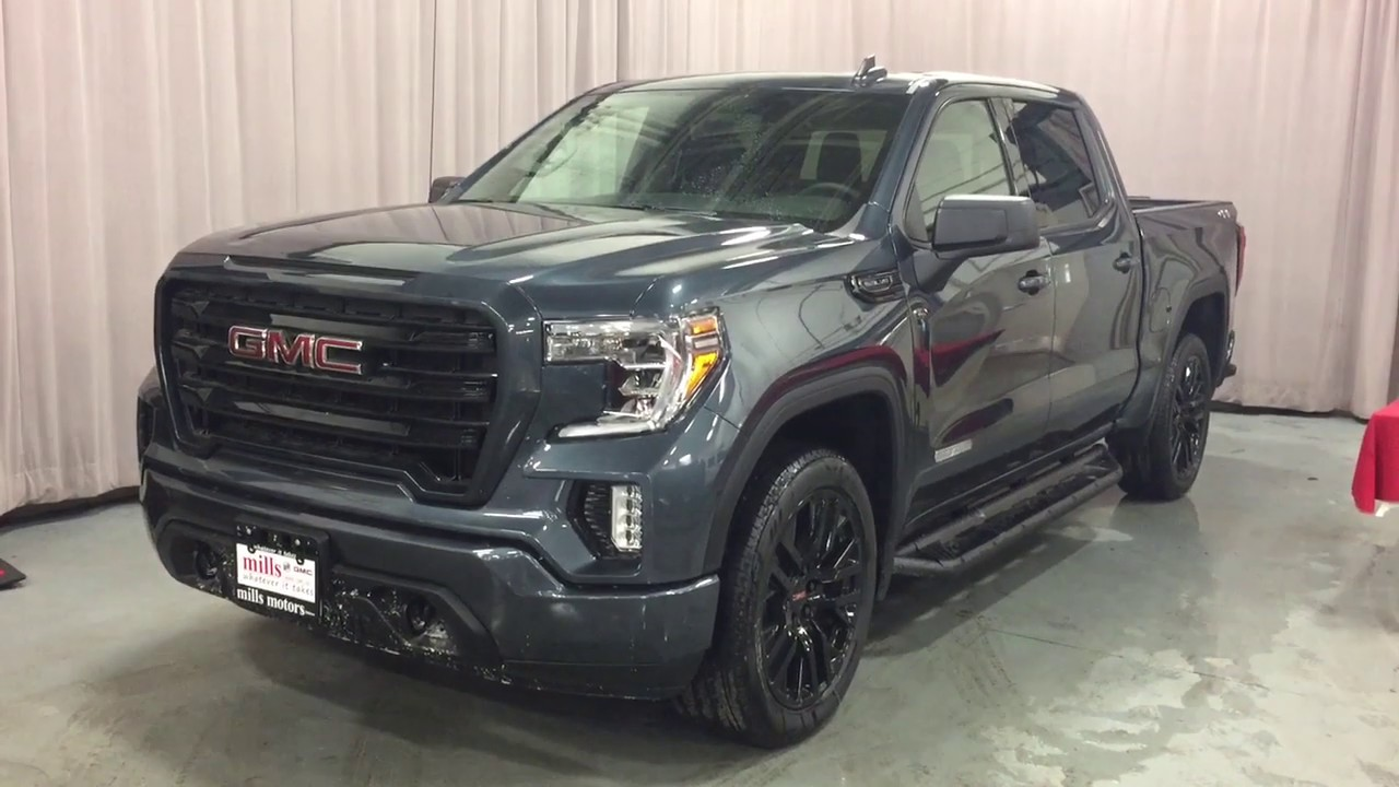 2019 GMC Sierra 1500 4WD Elevation 22 Inch Wheels Sunroof ...