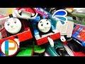 きかんしゃトーマス プラレール 事故ばかり!じこはおこるさ!沢山の電車や新幹線が大変! OmotyanoPrussian