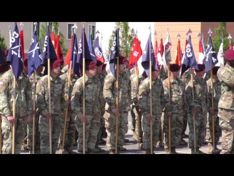 173rd Airborne Brigade Change of Command Ceremony