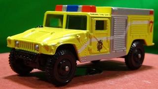 実在するハンヴィーの消防車 CORGI  Humvee Fire Pumper Chicago O'Hare AirPort