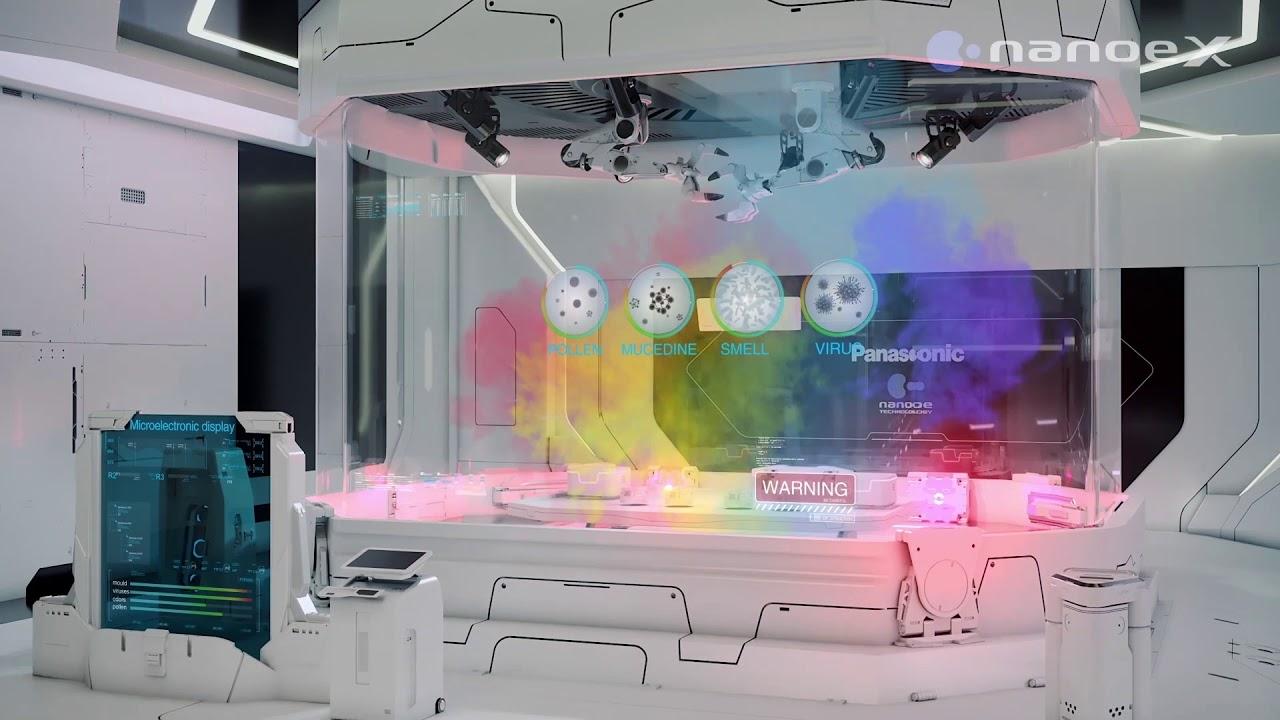 """""""Khí sạch, sống chất"""" với Công nghệ lọc khí nanoe của Panasonic (Viet sub)"""