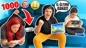 EL ÚLTIMO EN DEJAR DE JUGAR AL FORTNITE GANA 1000 EUROS!!!!