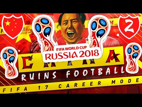 Download CHINA ELIMINATED BY MESSI IN THE WORLD CUP?!  🌏🏆 FIFA 17 CHINA🇨🇳 CAREER MODE EP 2 Pics