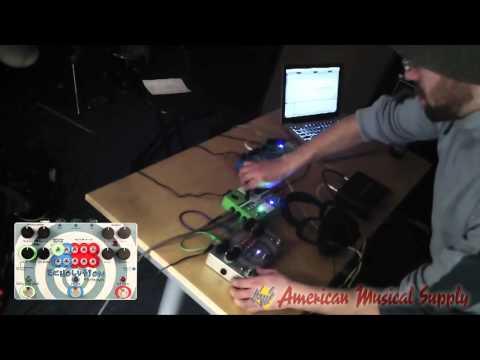Pigtronix Keymaster Studio Effects Mixer Router Pedal - Pigtronix Keymaster