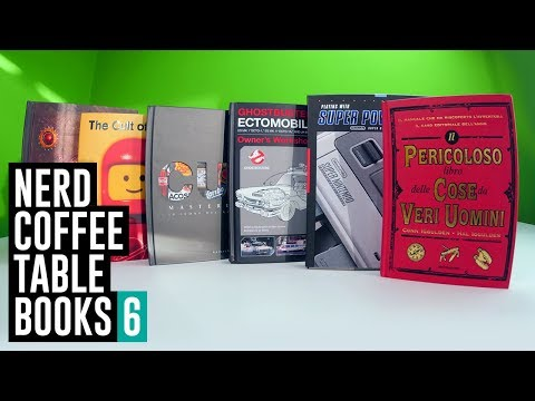 Nerd Coffee Table Books 6 #IncautoUnboxing