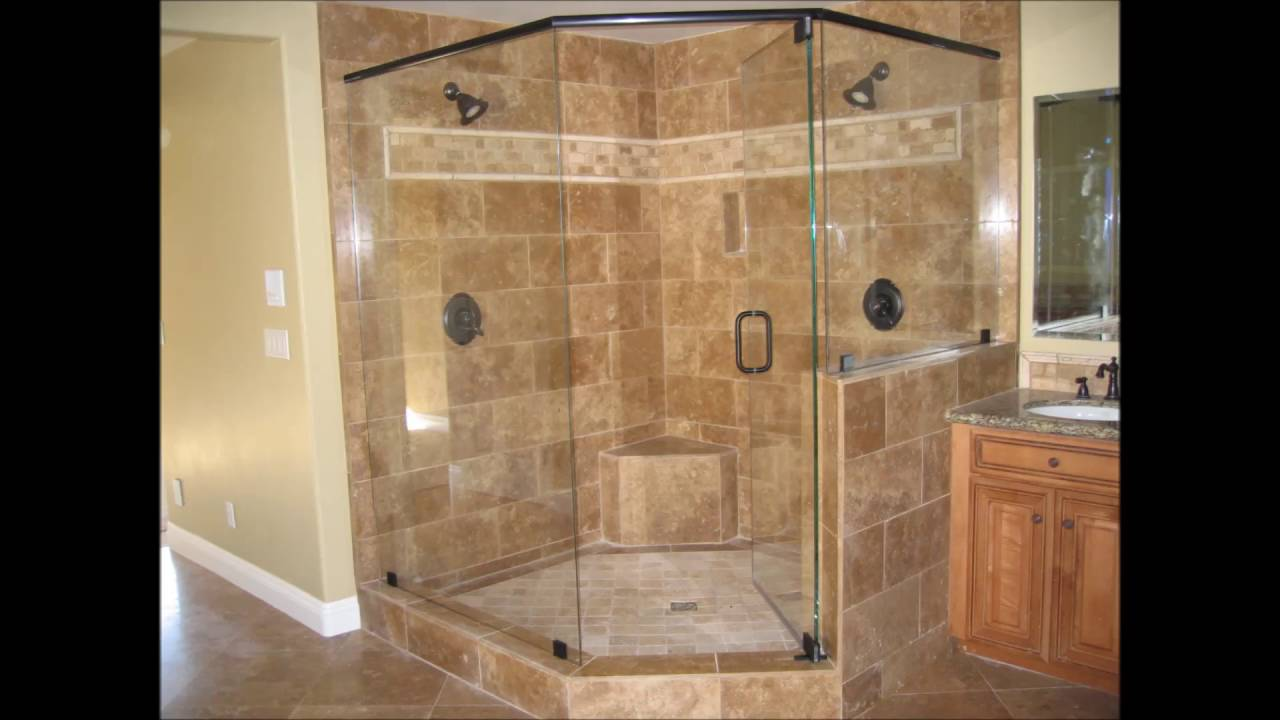 Shower Door With River Glass Designs Bathroom Shower ...