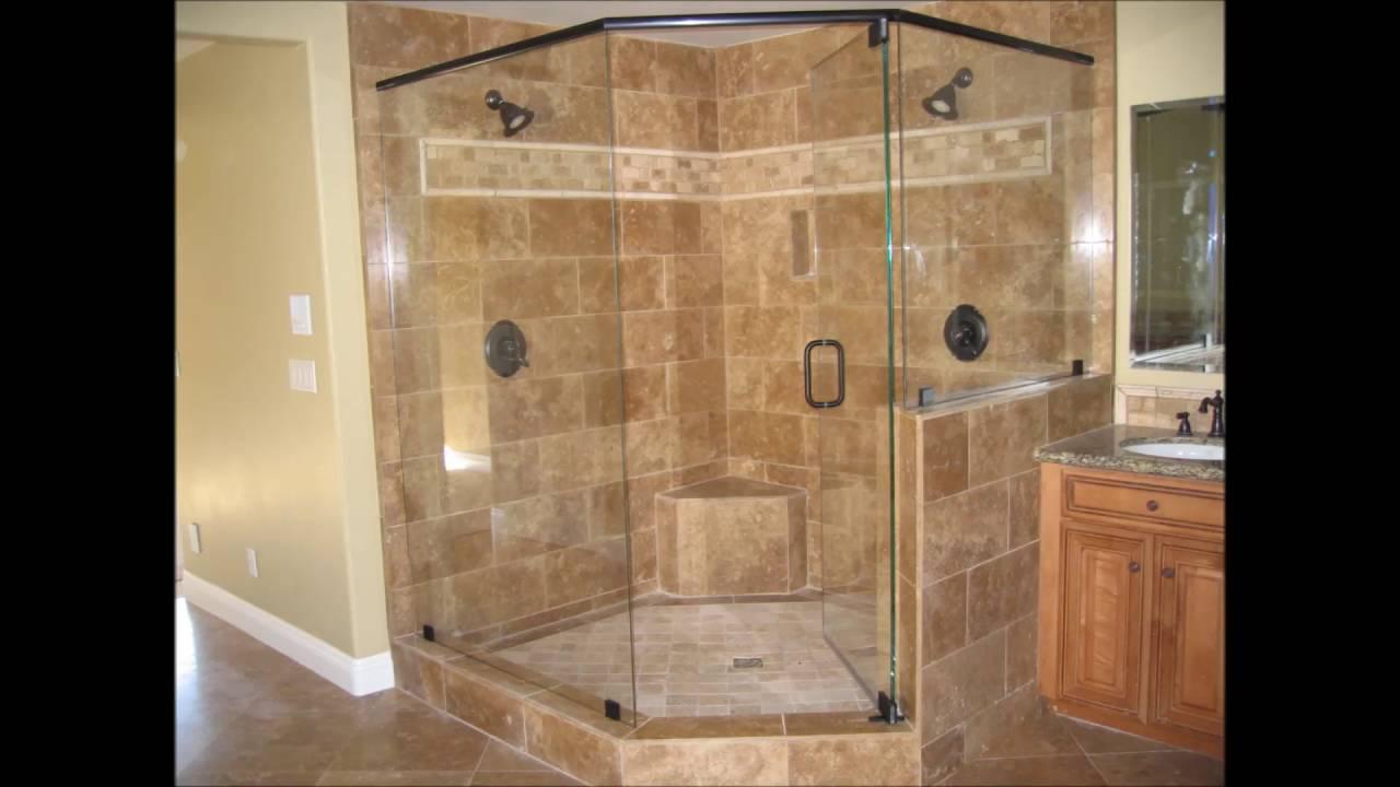Shower Door With River Glass Designs Bathroom Shower ...