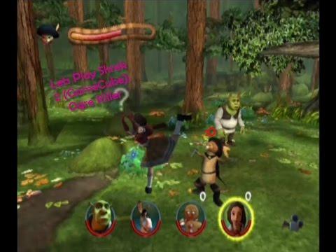 Lets Play Shrek 2 Gamecube Ogre Killer Youtube