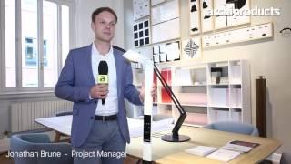 Archiproducts Milano 2017   LUCTRA - Jonathan Brune ci racconta lampada portatile e flessibile