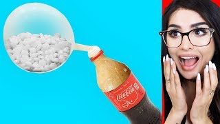 I Tried Coca Cola vs Mentos EXPERIMENT