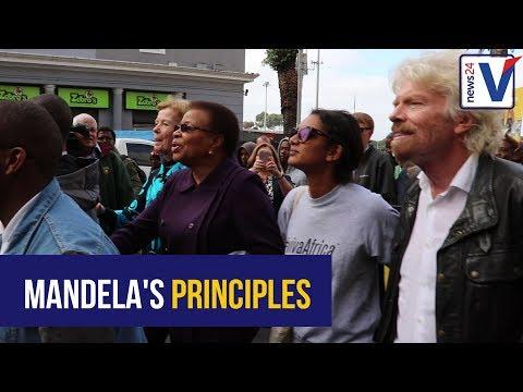 WATCH: Elders walk in Cape Town for Nelson Mandela Day