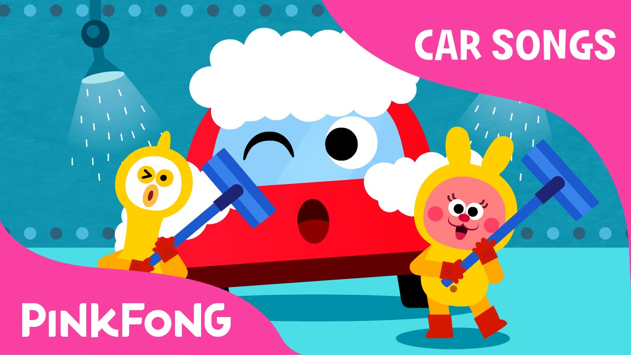 at the car wash car songs pinkfong songs for children youtube