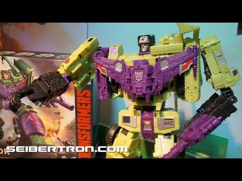 Transformers Generations Combiner Wars, Devastator, Defensor, Ultra Magnus and more Toy Fair 2015