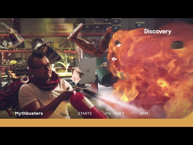 Mythbusters Season 11 | Promo | Starts 7 February 8 PM
