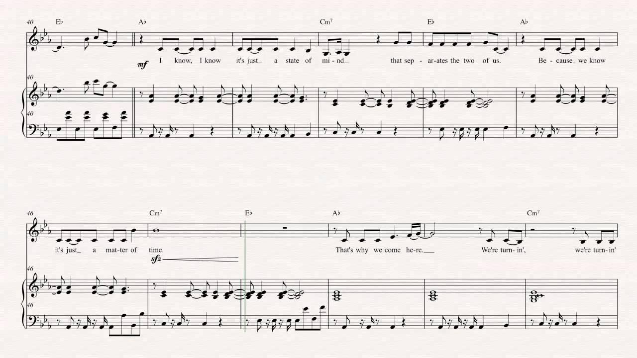 Trumpet Summer Nights Kaskade The Brocks Sheet Music Chords