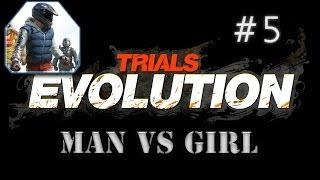 Man Vs Girl | Trials Evolution | #5