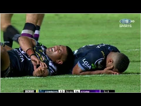 NRL To Investigate After Referees Play On Despite Serious Macdonald Injury In Cowboys-Storm Match