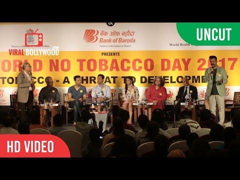 UNCUT - World No Tobacco Day 2017   Vivek Oberio, Salim–Sulaiman, Amole Gupte   CPAA