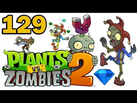 ч.129 Plants vs. Zombies 2 - Dark Ages - Day 16