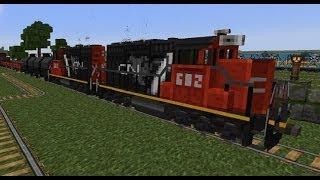 Minecraft Trains Mod - Version II