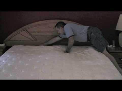 """Select Comfort """"sleep numbers"""" beds with mold issues"""
